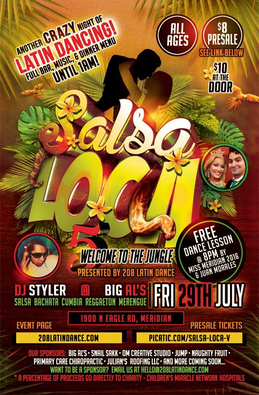 Salsa Loca V 07 29 16 208 Latin Dance